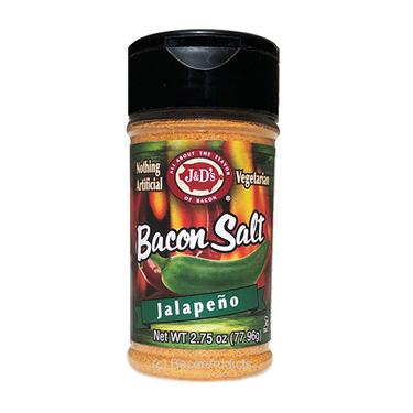 J&D's Jalapeno Bacon Salt Low Sodium All Natural Flavored Seasoning