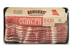 Sliced Applewood Smoked Country Bacon - Dry Cured Gourmet Smokehouse Bacon Gift Box