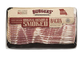Sliced Hickory Smoked Original Country Bacon - Dry Cured Bacon Gourmet Smokehouse Gift Box