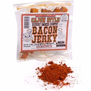 100% Real Bacon Jerky - Spicy Cajun Flavor