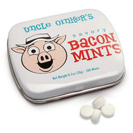 Uncle Oniker's Bacon Flavor Mints Flavored Candy (.7 oz Gift Tin)