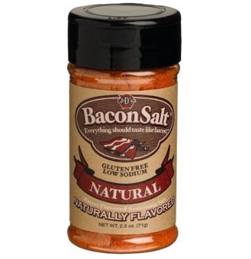 J&D's Natural Bacon Salt Low Sodium Flavor Seasoning