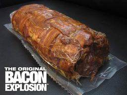 The Original Bacon Explosion - Pork Bomb Sausage Barbecue BBQ Roll