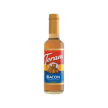 Torani Bacon Flavoring Syrup - Flavored Coffee, Espresso, Latte, Soda, Drinks
