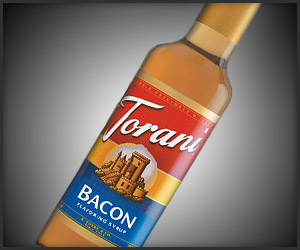 Torani bacon syrup t