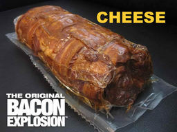 The Cheese Bacon Explosion - Pork Bomb Sausage Barbecue BBQ Roll