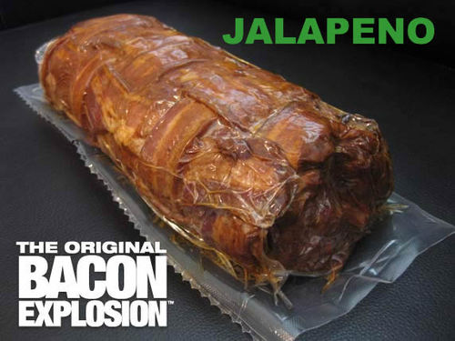 The Jalapeno Bacon Explosion - Pork Bomb Sausage Barbecue BBQ Roll