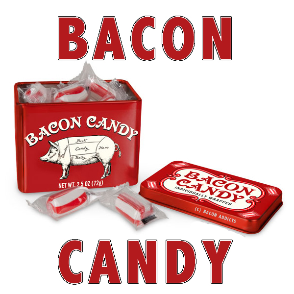 Bacon candy words
