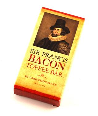 Sir Francis Bacon Dark Chocolate Toffee Bar (3 oz)