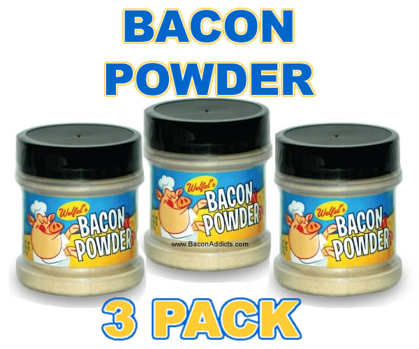 Welfels bacon powder 3pack