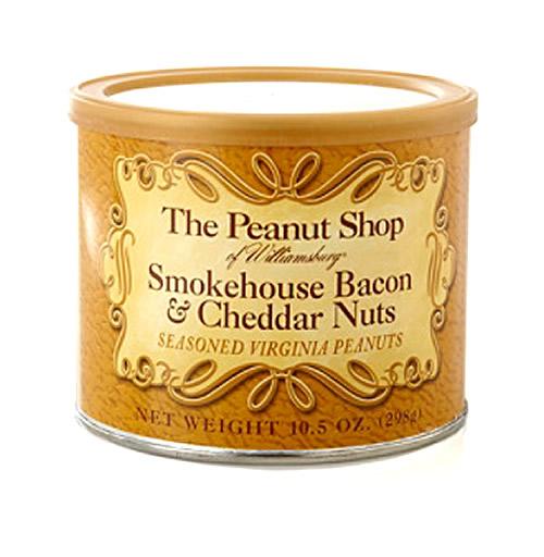 Bacon cheddar peanuts