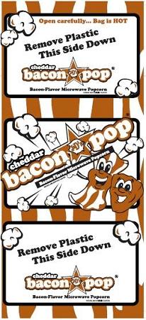 Baconpop cheddar bag