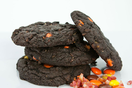 Bacon Chocolate Peanut Butter Cookies (6 pack)