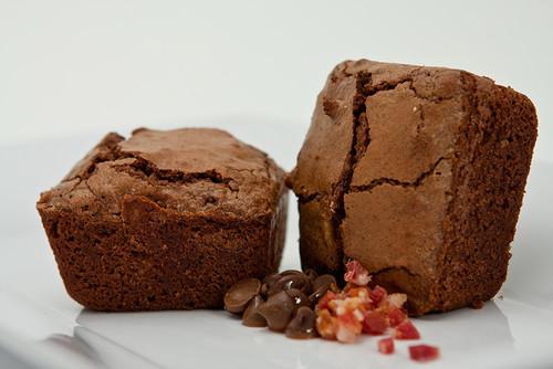 Bacon Chocolate Brownies (6 pack)