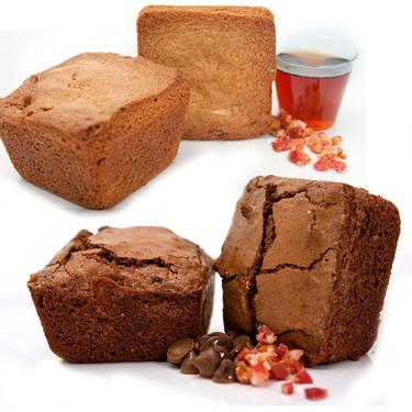 Bacon Brownies Brownie Sampler (6 pack)