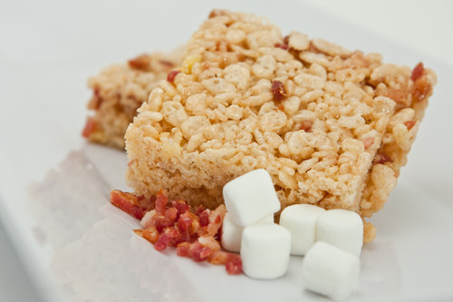 Bacon Marshmallow Rice Bars (6 Pack)