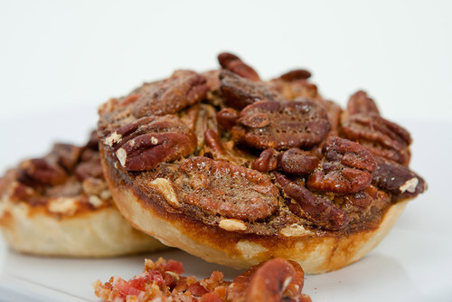 Bacon Pecan Pie (2 Mini Pies)