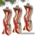 Bacon Ornaments Christmas Tree