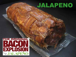 The Jalapeno Bacon Explosion - Pork Bomb Sausage Barbecue BBQ Roll (2 Rolls)
