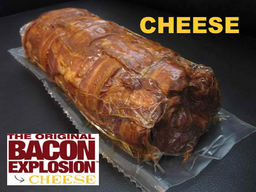 The Cheese Bacon Explosion - Pork Bomb Sausage Barbecue BBQ Roll (4 Rolls)