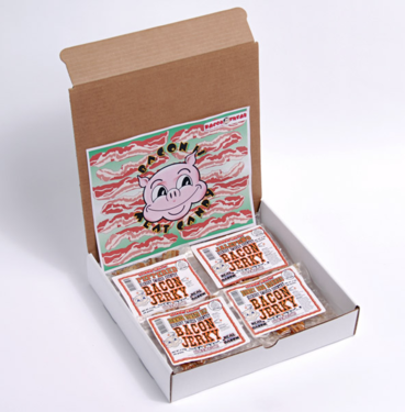 100% Real Bacon Jerky - Gift Pack Bundle (5 Flavors)