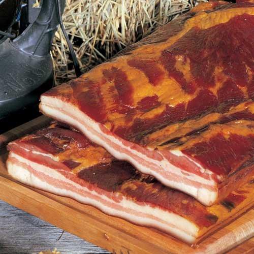 Slab bacon stock