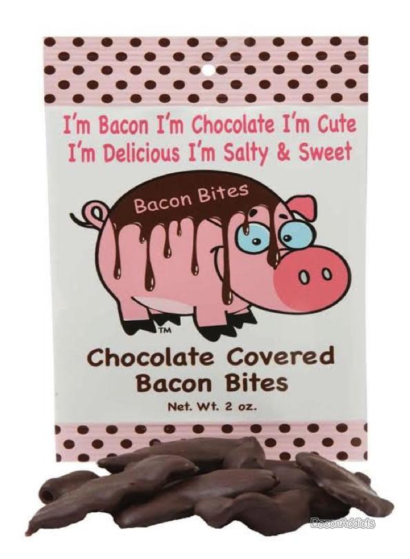 Bacon bites choc bacon bag