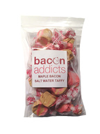 Maple Bacon Salt Water Taffy Flavored Taffies Candy (4 oz bag)