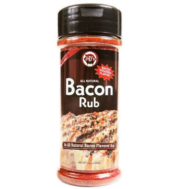 """J&D's Bacon Rub Flavored Seasoning """"Bacon Wrapped"""" Flavor"""