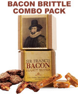 Sir Francis Bacon Peanut Brittle & Chocolate Brittle Combo Pack