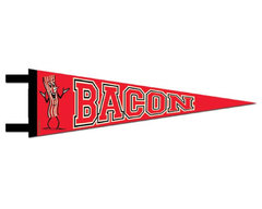 Bacon Pennant - Felt Wall Decor Hanging Flag Decoration