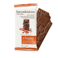 Chuao Baconluxious Maple Bacon Milk Chocolate Bar - BEST BY 11/12/2019