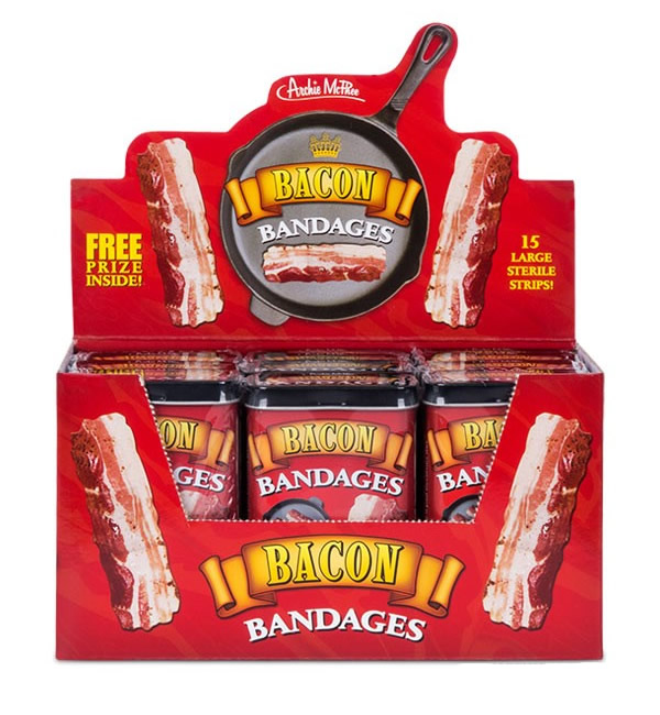Bacon bandages box case