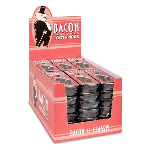 Bacon toothpicks box case