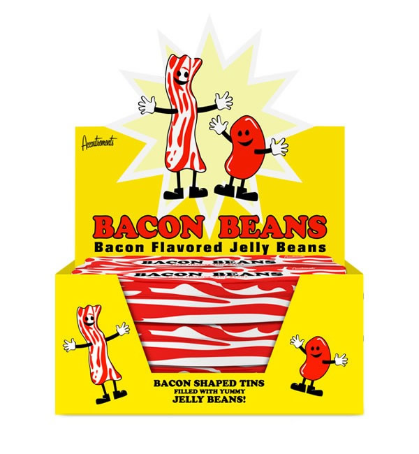 Bacon jelly beans box case