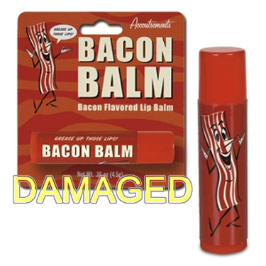 DAMAGED Bacon Flavor Lip Balm Flavored Chap Stick