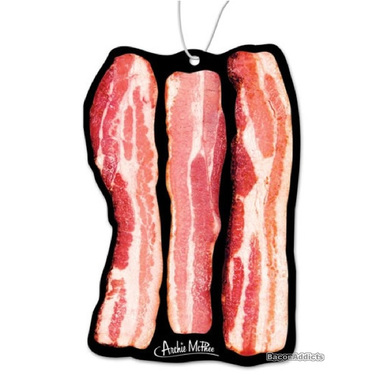 Deluxe Bacon Air Freshener - Hanging Scented Air Freshner - Sizzlin Bacon Scent