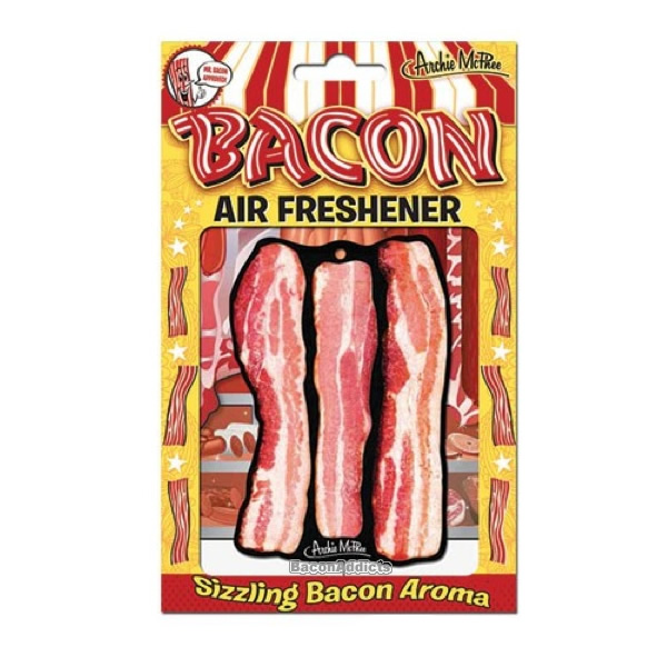 Deluxe bacon air freshener package