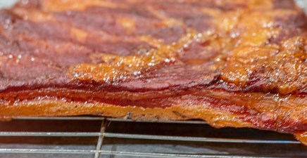 Homemade Smoked & Cured Bacon!