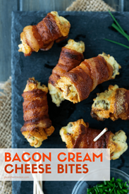 Bacon Cream Cheese Bites!
