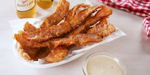 Chicken Fried Bacon!
