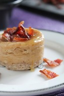 Bourbon Maple Bacon Mini Cheesecakes!