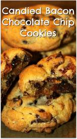 Candied Bacon Chocolate Chip Cookies!
