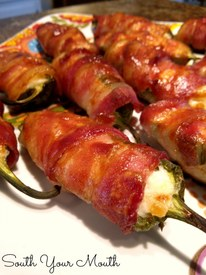 Bacon Pineapple Jalapeno Poppers!
