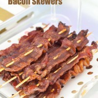 Spiced Bacon Skewers!