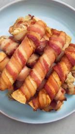 Bacon Wrapped Taquitos!
