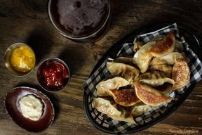 Bacon Cheeseburger Potstickers!