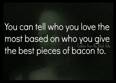 Sharing Bacon? That Must Be True Love.