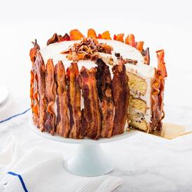 Epic Father's Day Bacon & Beer Cake!