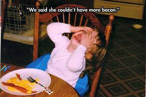 No More Bacon!